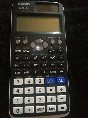 casio fx-991ex classwiz advanced scientific calculator