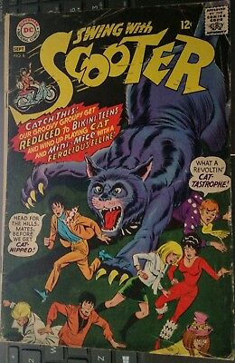 Swing With Scooter 1967 #8 DC National Comic Book