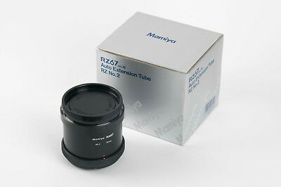 Excellent used Mamiya RZ67 82mm extension tube No.2 for close-up work