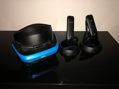New Acer Mixed Reality Headset with Two Motion Controllers for Windows PC