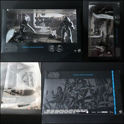 Star Wars- The Black Series- Imperial Shadow Squadron- 6inch- sealed