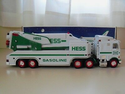 1999 Hess Toy Truck - Toy Truck And Space Shuttle With Satellite -  (Read)