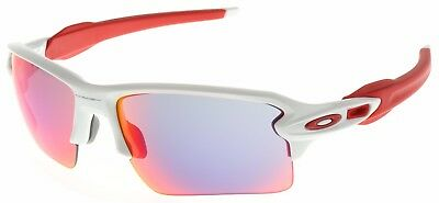 Oakley Flak 2.0 XL Sunglasses OO9188-21 Polished White | Positive Red Iridium