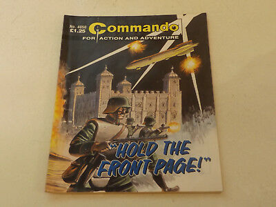 Commando War Comic Number 4050,2007 Issue,good For Age,11 Years Old,very Rare.