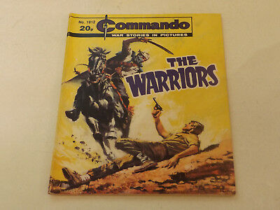 Commando War Comic Number 1812,1984 Issue,v Good For Age,34 Years Old,very Rare.