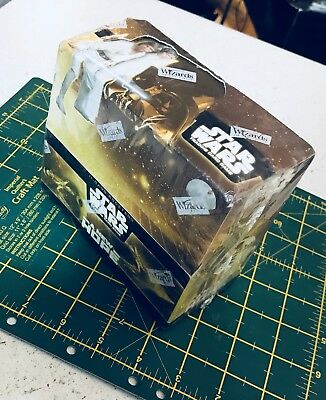 Star Wars A New Hope Factory Fresh Sealed Booster Box of 36 11-card packs RARE!!