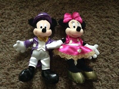 Showtime Mickey & Minnie mouse soft plush toys