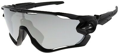 Oakley Jawbreaker Sunglasses OO9290-1931 Polished Black | Chrome Iridium Lens |