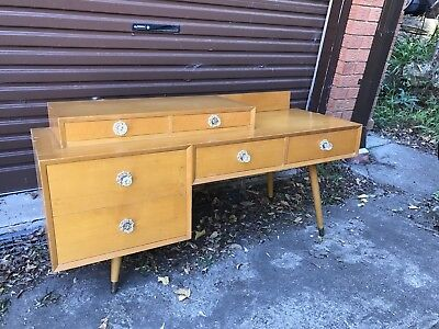 60s/mid century dressing table