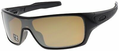 Oakley Turbine Rotor Sunglasses OO9307-06 Black | Tungsten Iridium Polarized |