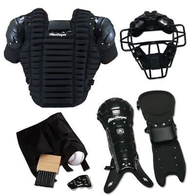 MacGregor Umpire Pack 1 Complete Baseball Set Equipment Gear Mask Chest Protect