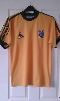 Mens Football Shirt - Brazilia FC - Le Coq Sportif - #10 - Yellow - Size S