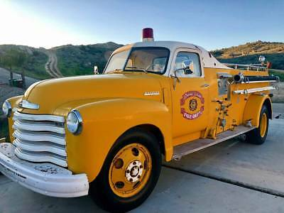 1948 Chevrolet Other  1948 Chevrolet Loadmaster Classic Fire Truck