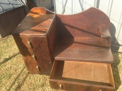 Antique Stand/seat with Drawers