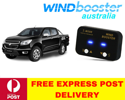 Windbooster 5-Mode Throttle Controller to suit Holden Colorado 2012 Onwards