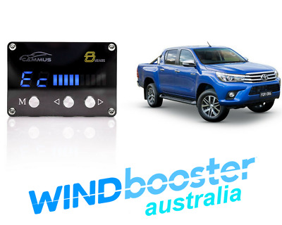 Windbooster C8 iDRIVE Throttle Controller to suit Toyota Hilux 2005 - 2015