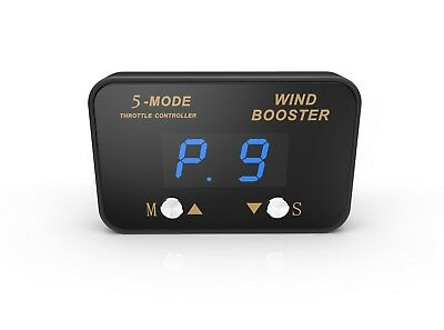Windbooster 5-Mode Throttle Controller to suit Mitsubishi Pajero (non-sport) 200