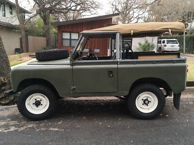 1971 Land Rover Series IIa  1971 Land Rover series 2a (IIa) RHD