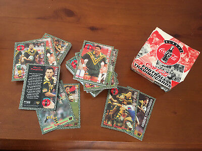 Coca Cola Team Classics Football Cards - 6 Boxes - 720 Cards New - 1995