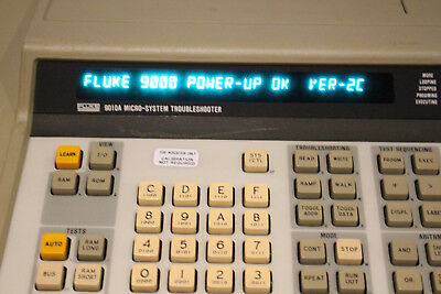 Used Fluke 9010A Micro-System Troubleshooter RS-232 ROM 2C