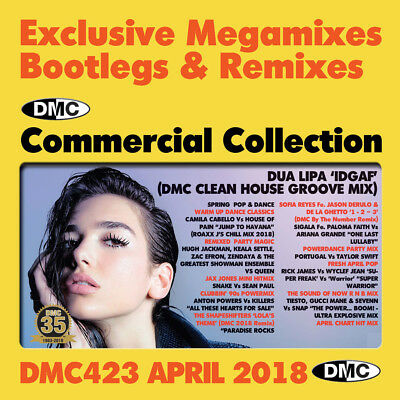 Dmc Commercial Collection 423 April 2018 Brand New 2Cd Dj Remix Service