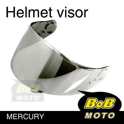 Chrome Motorcycle Tinted Shield Helmet Visor Fit GT AIR Shoei Neotec GT-Air AU