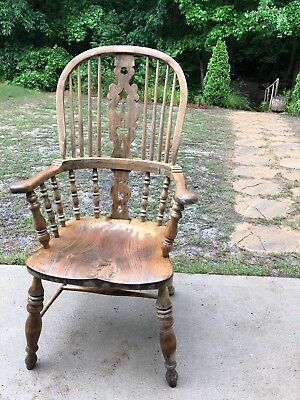 Antique Oak Wood Chair