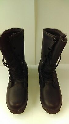 Womens Black Combat Style Boots In New Condition Unbranded
