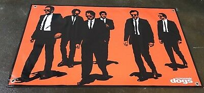Reservoir Dogs movie poster suit figure film banner Quentin Tarantino cd car