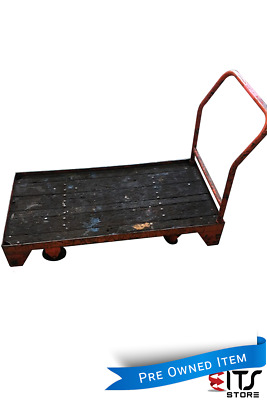 Workshop Cart Flat Bed Mobile Stock Picking or Packing Trolley