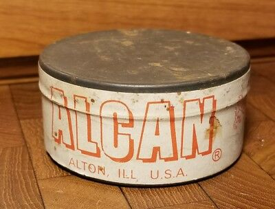 Rare Sealed Alcan 250 Musket Caps Tin - Made In England