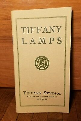 Vintage Tiffany Lamps - Tiffany Studios Proce Guide Booklet