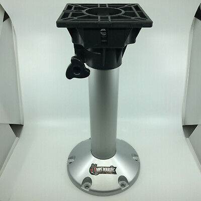Fixed Seat Pedestal Swivel Top Boat Marine - 450mm