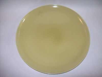 """Russel Wright Iroquois Casual China Avocado Chop Plate Platter 13 1/4"""" ~ EXC"""