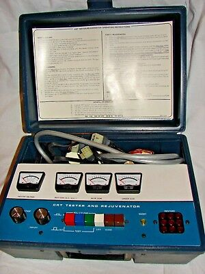 Vintage Health Kit CRT Tester and Rejuvenator