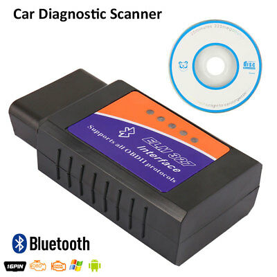 ELM327 Bluetooth OBD2 OBDII Car Diagnostic Scanner Code Reader Canada