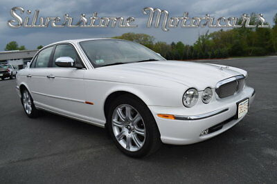 Jaguar XJ8 Vanden Plas 2004 White Vanden Plas Walnut Dash Great Driver Exceptional Condition