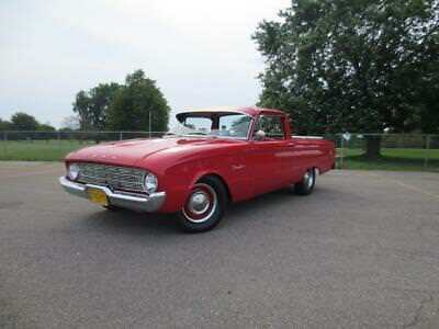 1960 Ford Ranchero  1960 Ford Ranchero - Very Nice Automatic with Ice Cold Air Conditioning