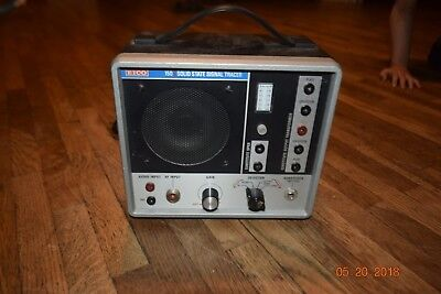 VINTAGE WORKING EICO 150 SOLID STATE SIGNAL TRACER Very Good