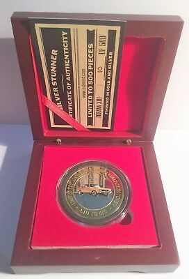 NEW XU1 Holden Torana Colour Silver Stunner Coin & Display Box C.O.A. LTD 500