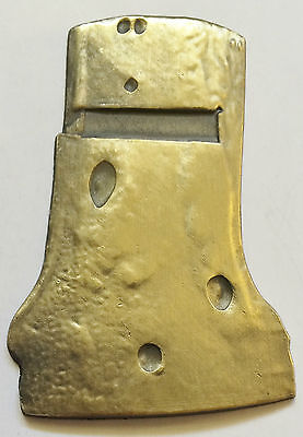 "Rare 2015 ""Ned Kelly"" Helmet Ingot, Antique Gold Finish, Outlaw, Bushranger"