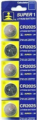 AA2025 - 5-Pc Lithium Battery Set #2025 (BT2025-5)s