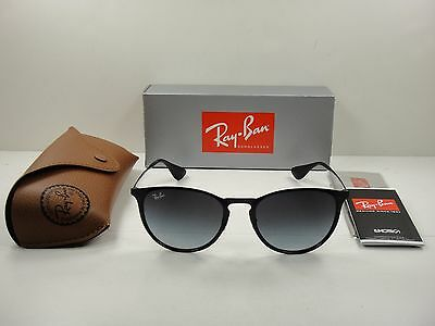 410d93c7f9 Ray-Ban Erika Metal Sunglasses Rb3539 002 8G Black grey Gradient Lens 54Mm
