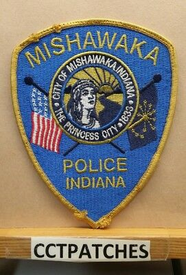 Mishawaka, Indiana Police Shoulder Patch In