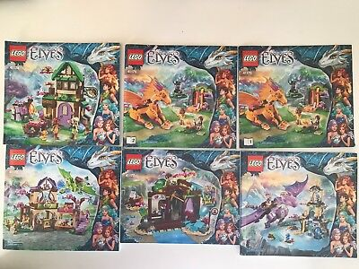 LEGO - ELVES - INSTRUCTION MANUALS x 6