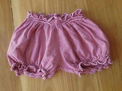 """Paper wings """"little wings"""" red striped shorts size 1 - 2"""