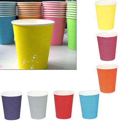 10-50 Disposable Paper Hot Drinks Cups Coffee Tea Cappuccino Espresso Chocolate