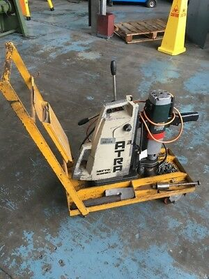 Atra Metabo Magnetic Drill with Swivel M-320 Base 240 Volt