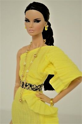 """Tess-Creations fashion royalty 12"""" ooak handmade clothes outfit  """"Sun chaser"""""""