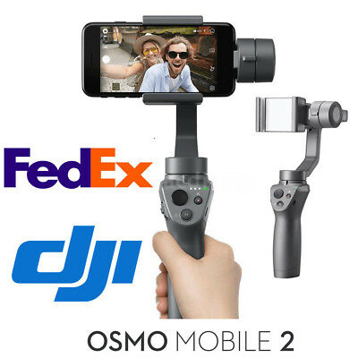 DJI Osmo Mobile 2 3-Axis Phone Gimbal Handheld Stabilizer For Smart Phone New